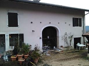 crépis maison en pierre