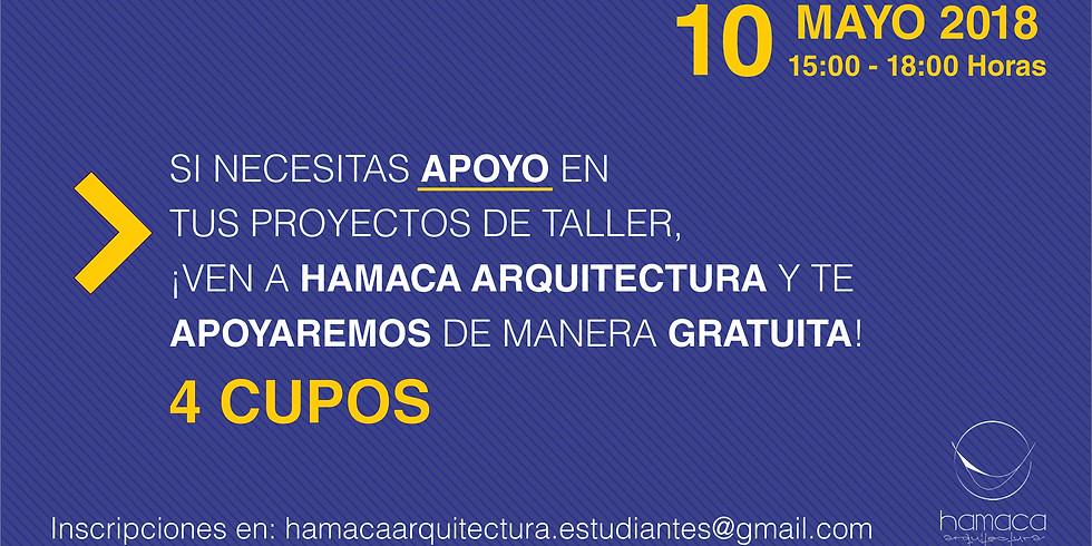Ayudantía Estudiantil en Taller de Arquitectura 02