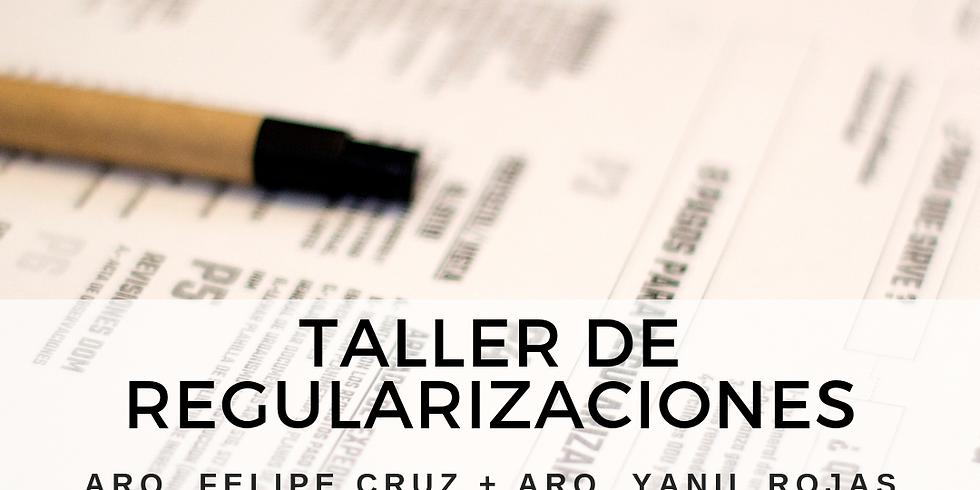 TALLER DE REGULARIZACIONES DICIEMBRE