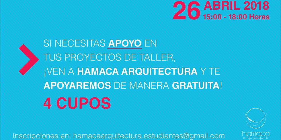 Ayudantía Estudiantil en Taller de Arquitectura 01