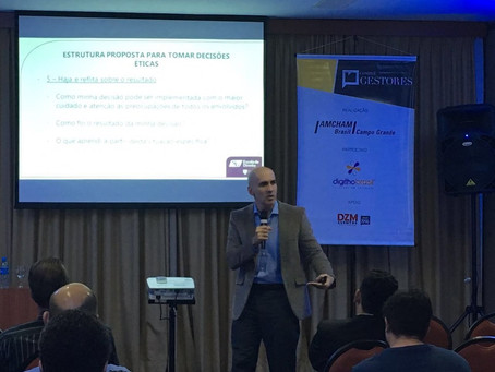 Ethics in Decision Making, for CEOs, Presidents and Business Leaders - Amcham Brazil