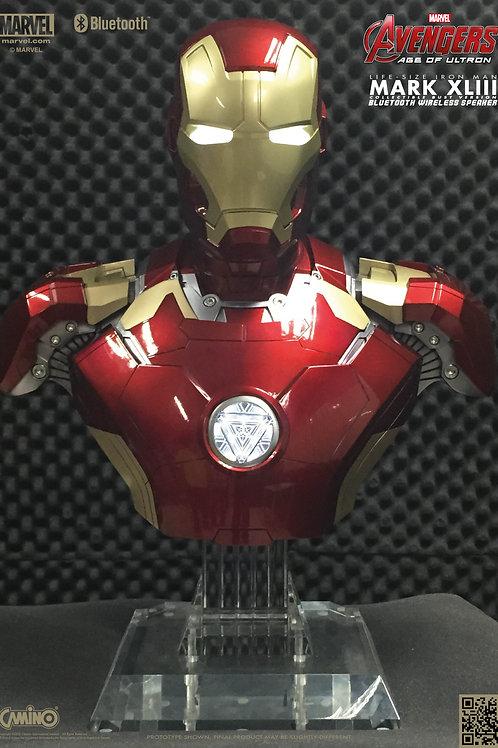 Iron Man Mark 43 Bust Life-Size Blue Tooth Hi-Fi System