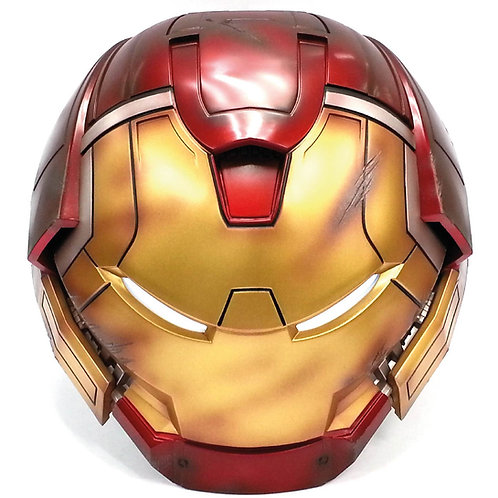 Iron Man Mark 44 Hulkbuster Helmet Battle Damaged Edition 1_2 Bluetooth Speaker