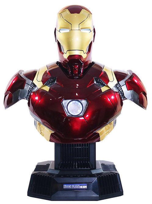 Iron Man Mark 46 Bust Life-Size Bluetooth Hi-Fi System
