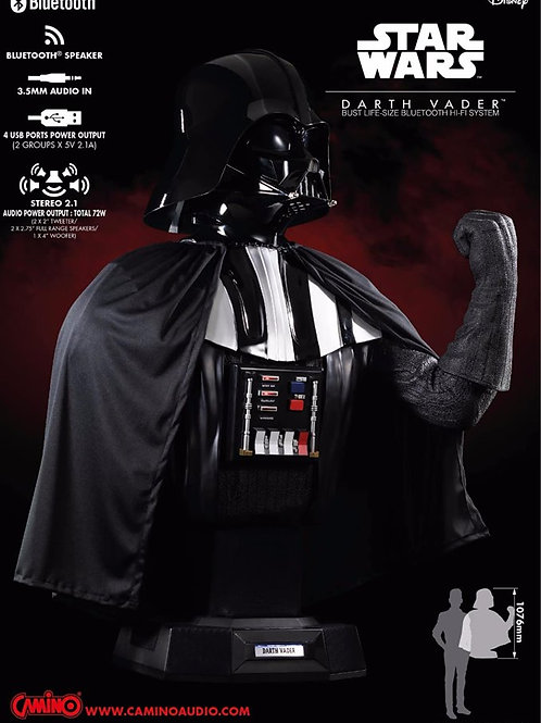 Darth Vader Bust Lifesize Bluetooth Hifi System