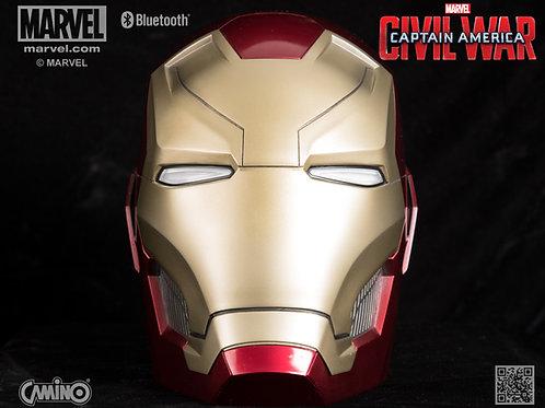 Iron Man Mark 46 Helmet Life-Size Bluetooth Speaker