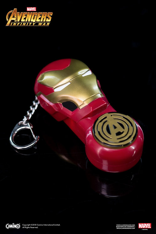 Key Chain With Small Flashlight - Iron Man