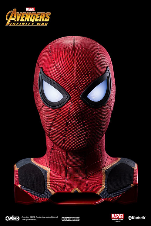 Avengers 3 Iron Spider-Man Mask Life-Size Bluetooth Speaker