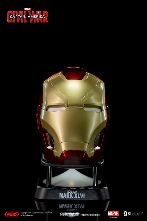 Iron Man MK46 Helmet Mini Bluetooth Speaker (V2.0)