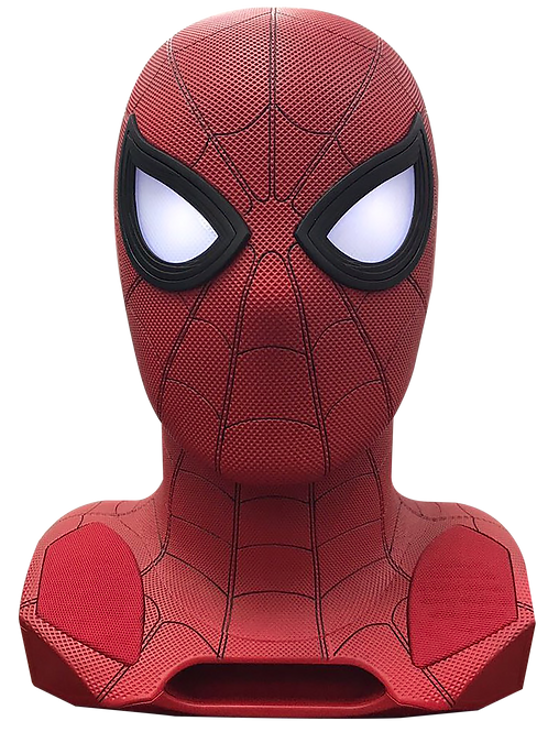 Spider-Man Figurative Life-Size Bluetooth Speaker With Projector
