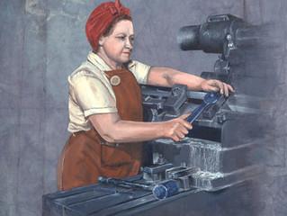 Women in Men's Jobs: 1942