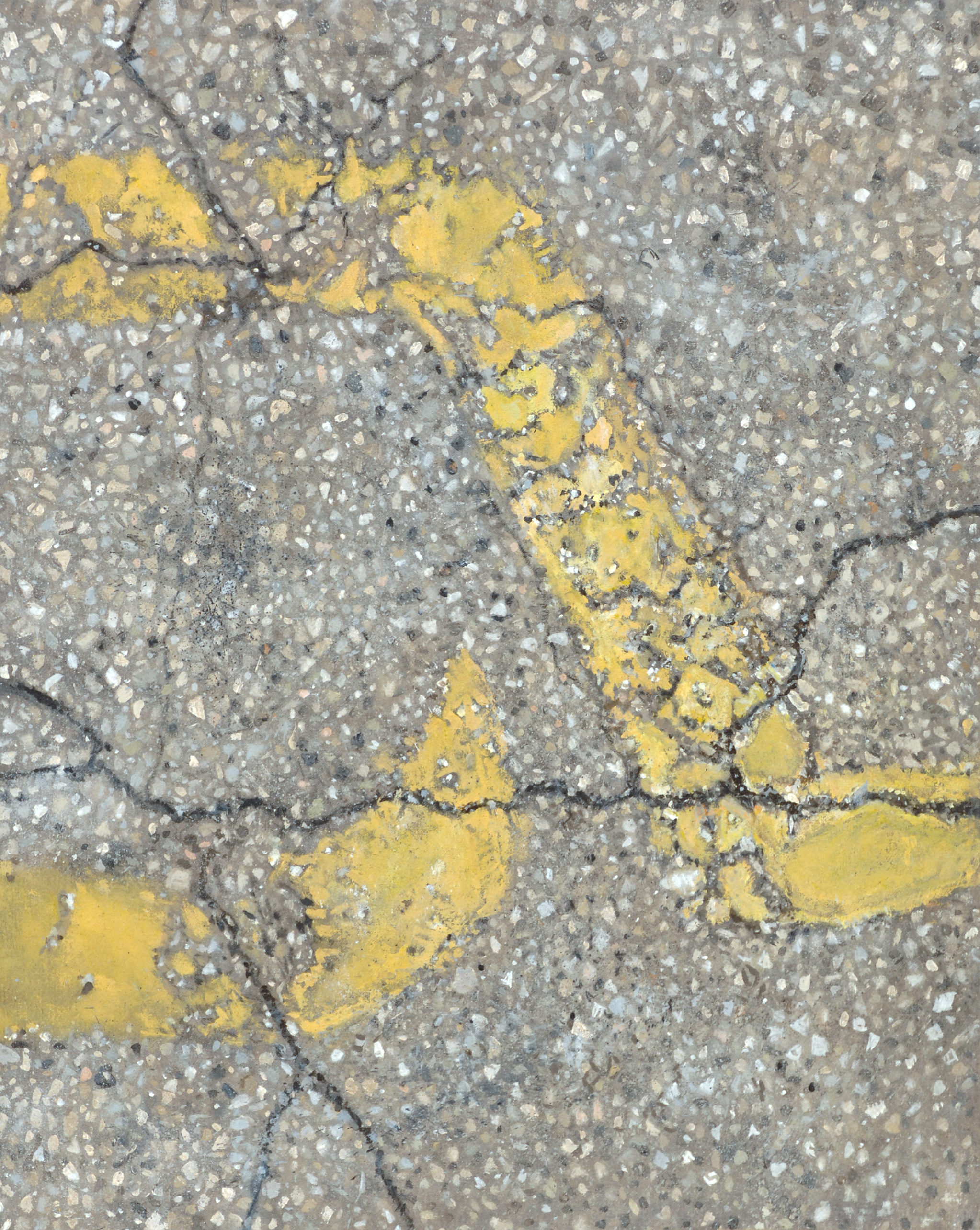 A Cracked Groundscape