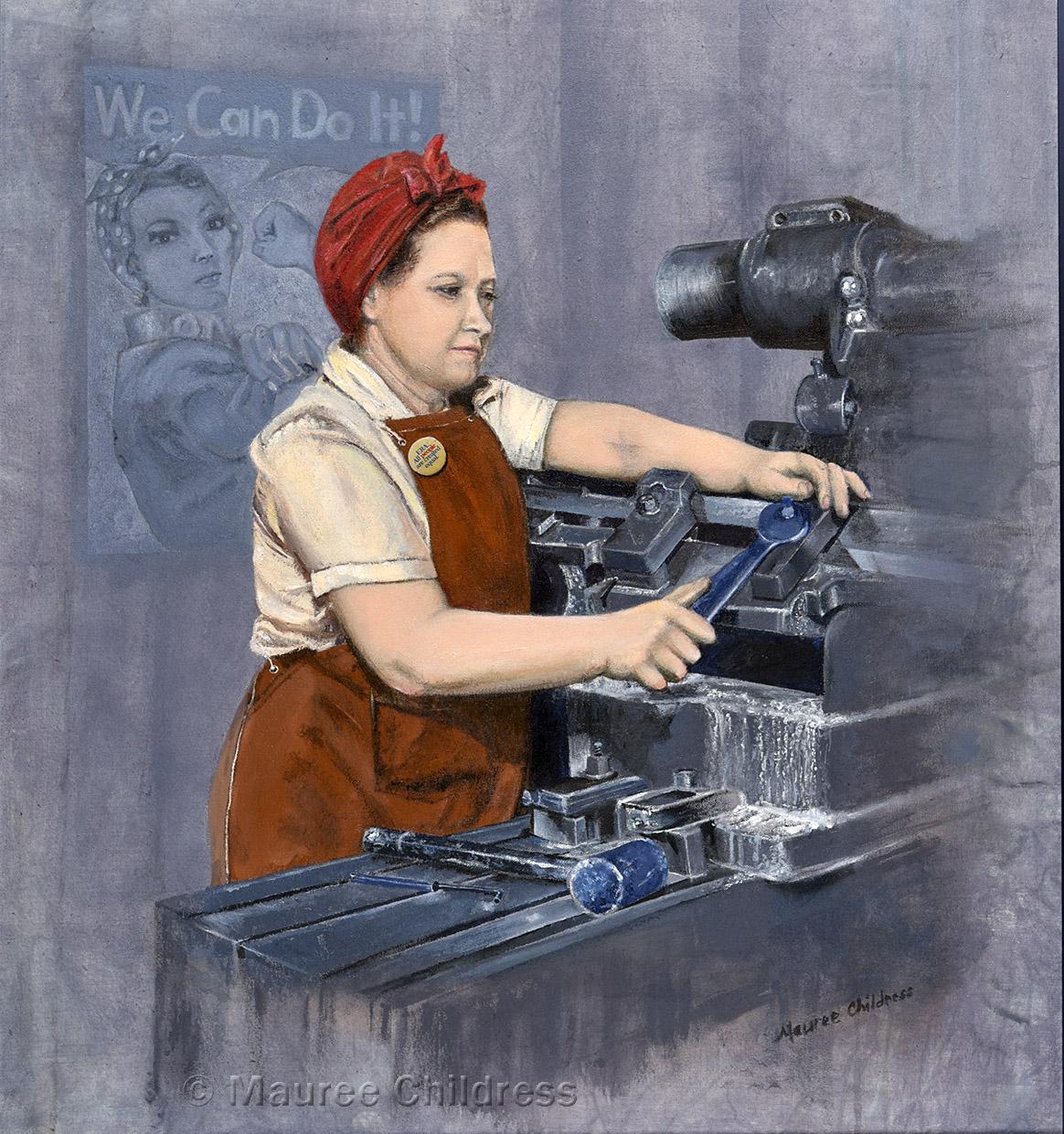 Women in Men's Jobs - 1942