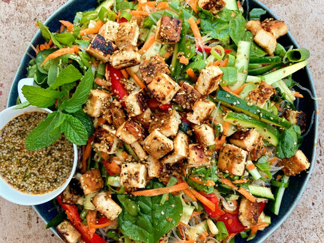 Spring Thai Kelp Noodle Salad