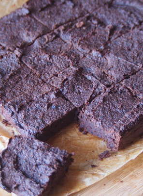 """Where do you get your protein from?"" Chocolate Black Bean Brownies"