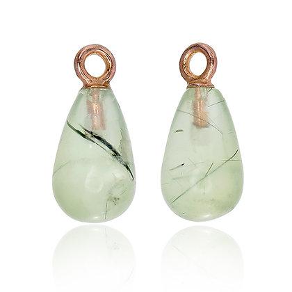 Green Prehnite Drops