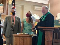 Ryder Jace Paul Baptism