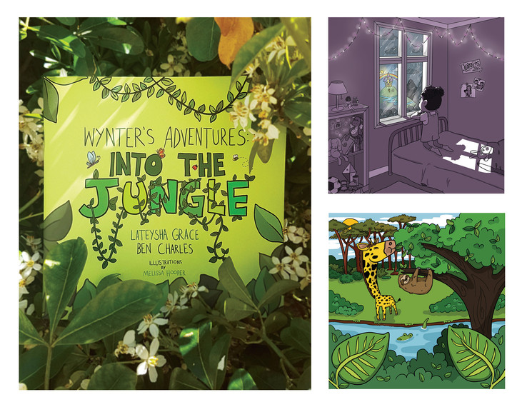 Illustrations for 'Wynter's Adventures: Into the Jungle'
