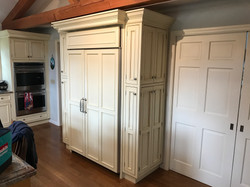 wood cabinet refinish