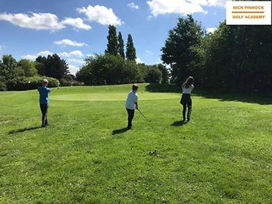 Golf junior camps in Welwyn, Stevenage, Hatfield and Hertfordshire