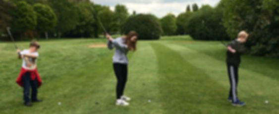 Golf lessons for kids in Welwyn, Hatfield, Stevenage and Hertfordshire