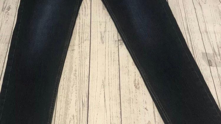 "Mens Boohoo Dark Blue Denim Skinny Jeans Size 34"" Waist Regular Leg new With Tag"