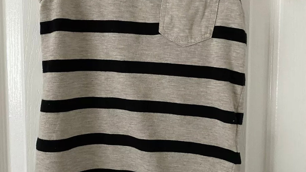 Boys Grey Black H&M Black Grey Vest Top Age 2-4 Years Immaculate