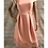 Thumbnail: Women's / Ladies Dorothy Perkins Off Shoulder Pink / Peach Dress Size 14