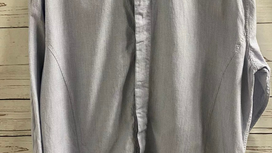 Mens Jiggler Lord Berule Blue Long Sleeve Shirt Size Large Immaculate