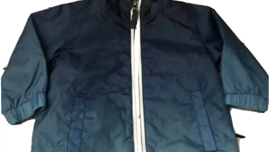 Baby Boys F&F Blue Light Weight Raincoat Age Upto 3 Months Immaculate Condition
