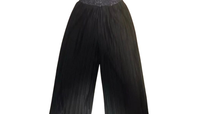 Girls TU Black Jumpsuit With Sequences Age 7 Years Excellent Condition