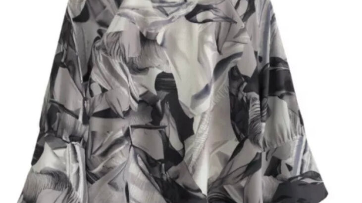 Womens / Ladies Next Grey Blouse Top Size 14 Immaculate Condition