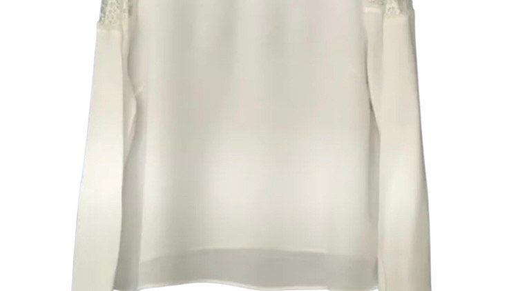 Women's / ladies Marks and Spencer's cream long sleeve top size 14
