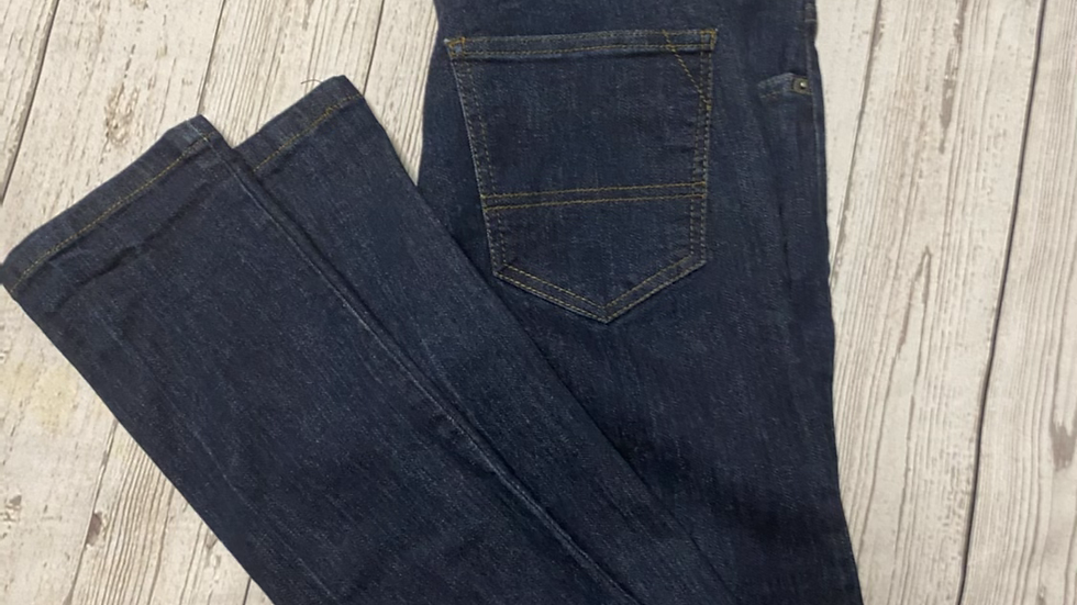 "Mens Bench Dark Blue Skinny Jeans Size 32"" Waist 34"" Leg Immaculate"