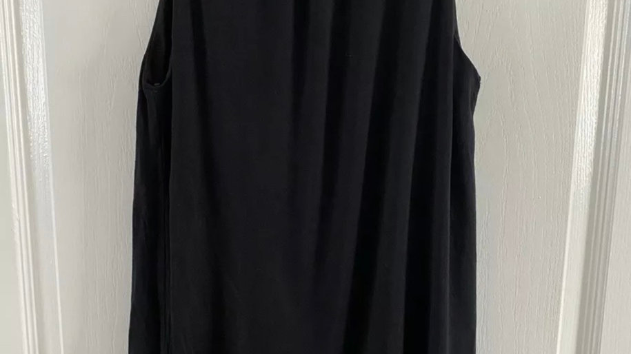 Womens / Ladies Select Black Vest Blouse Too Size 8 Immaculate Condition
