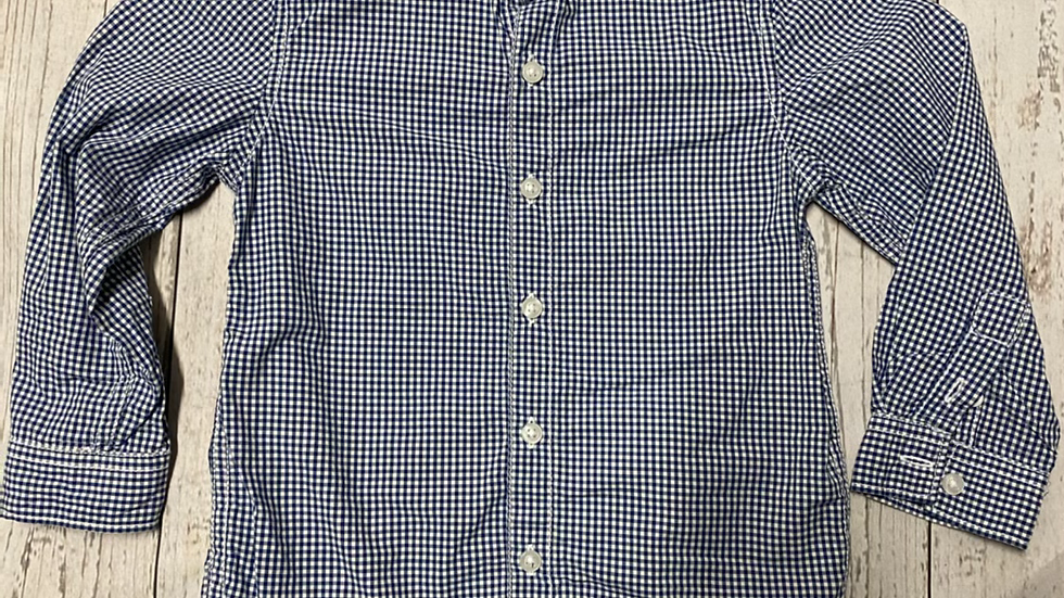 Boys Next Blue Check Long Shirt Age 2-3 Years Immaculate Condition