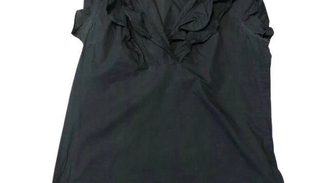 Womens / Ladies French Connection Black Top Size 10 - Excellent Condition