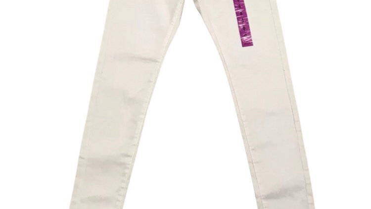 Womens / Ladies Denim & Co White Denim Jegging Jeans Size 6 New With Tags
