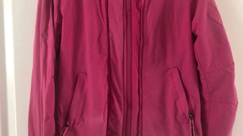 Women's / Ladies Superdry Windcheater Pink Jacket Size Small See Description
