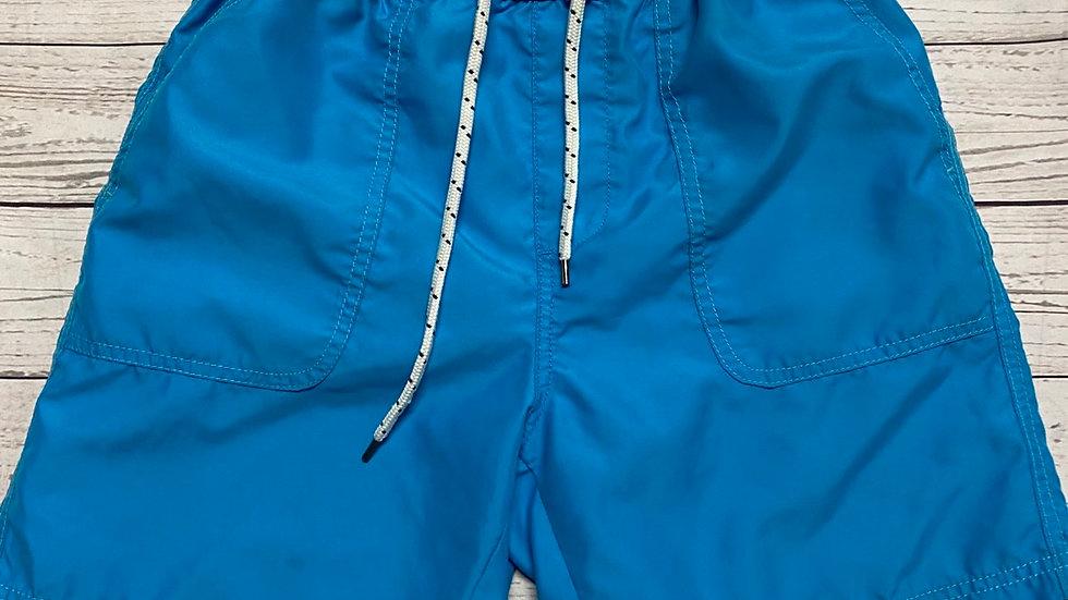 Mens Matalan Blue Swimming Shorts Size Small Good Condition