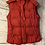 Thumbnail: Womens / Ladies Jack Wills Red Parka Bodywarmer Gilet Size 10 Excellent