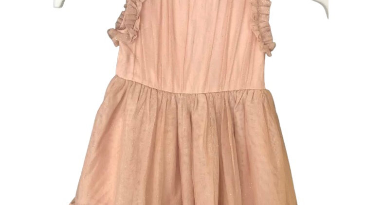 Baby Girls Next Pink Pretty Dress Age 6-9 Months Immaculate