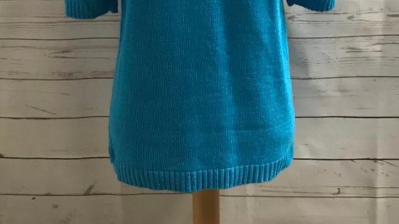 Women's / ladies blue Glimpse jumper size S/M new
