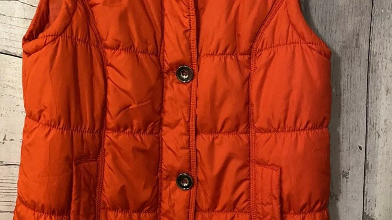 Womens / Ladies George Red Padded Gilet Bodywarmer Size 10 Excellent Condition