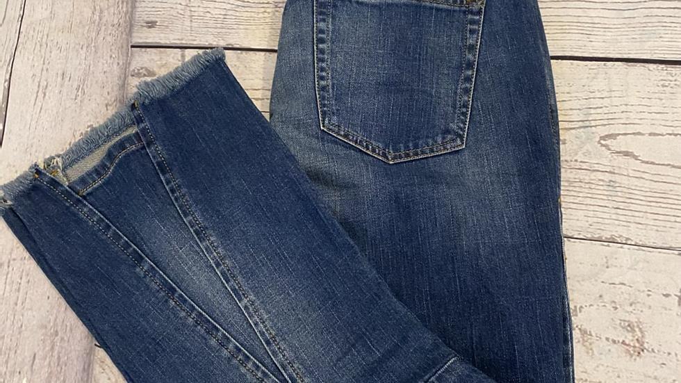 "Womens / Ladies Diesel D-eagle Blue Denim Jeans 28"" Waist X 32"" Leg New With Tag"