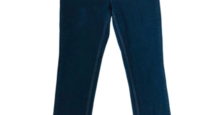 Womens / Ladies So Fabulous Blue Denim Skinny Jeans Size 26 Long Leg