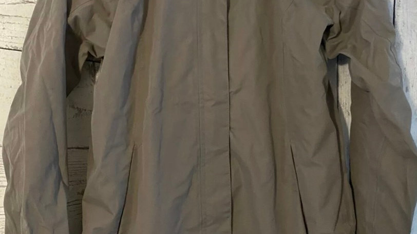 Womens / Ladies Regatta Brown Cost With Hood Size 12 - Excellent Condition