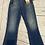 "Thumbnail: Womens / Ladies Diesel D-eagle Blue Denim Jeans 28"" Waist X 32"" Leg New With Tag"