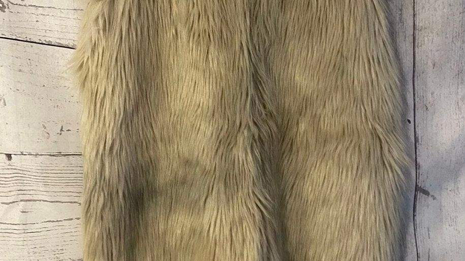 Womens / Ladies Atmosphere Faux Fur Waist Coat Size 8 - Excellent Condition