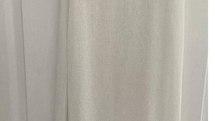 Womens / Ladies River Island Cream Crotchet Maxi Dress Size 8 Immaculate C